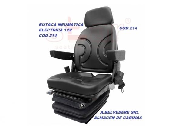 Butaca Operador Neumática Electrónica De 12V -Belvedere