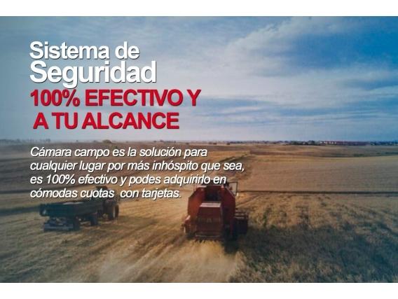 Cámara Campo Nuevo Sistemas En Seguridad Rural