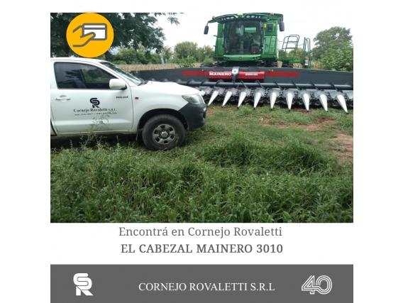 Cabezal Mainero 3010