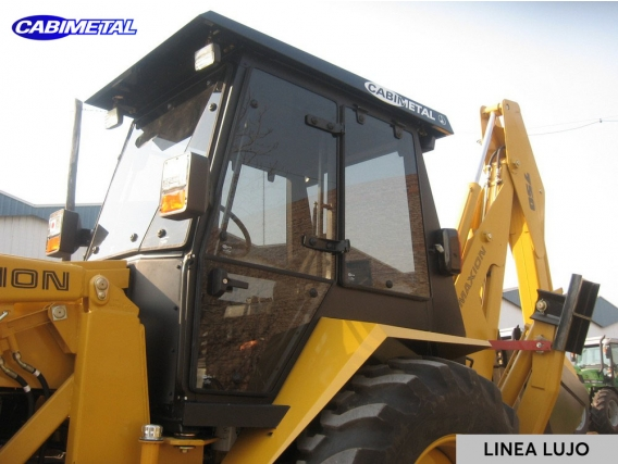 Cabina L Lujo Cabimetal Maxion Retroexcavadora 720/750