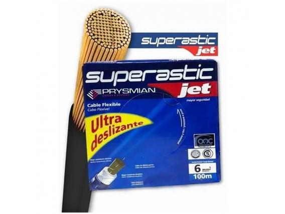 Cable 6Mm Unipolar Superastic Prysmian X100Mts