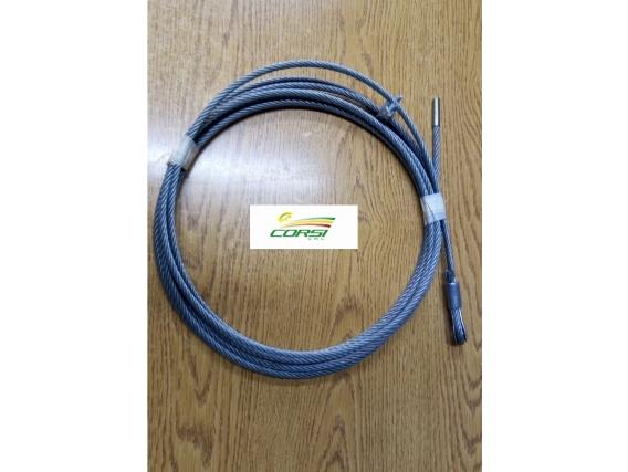 Cable Acero Tubo Descarga Don Roque 125/150
