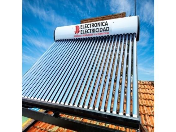 Calefón Solar Jr Electricidad Premium 300 Litros