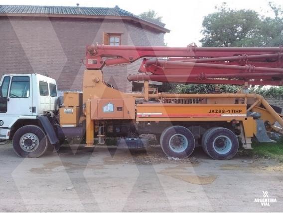 Camión Con Bomba De Hormigón Ford Cargo 2631 Id547