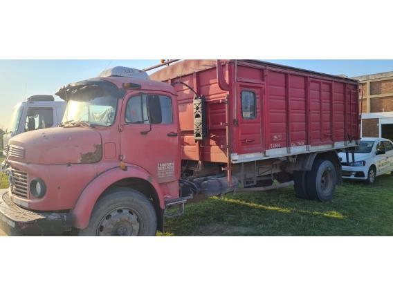 Camión Mb 1114 1988 Dir Hid Todo Aire C/ Carroc. Cereal