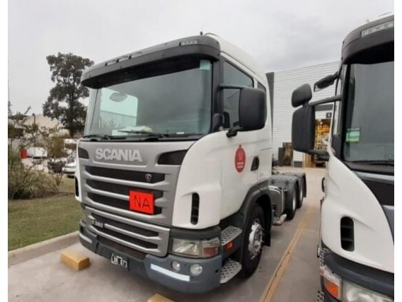 Camión Scania G380 - Año: 2012