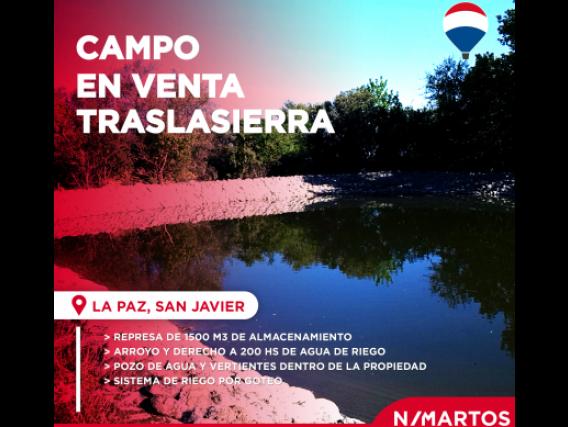 Campo De 400 Hectáreas En La Paz, Córdoba
