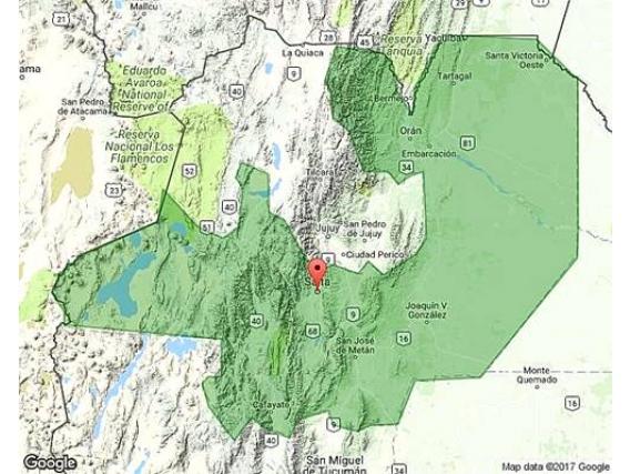 Campo En Venta En Salta. 28000 Has. Aptitud Mixta.