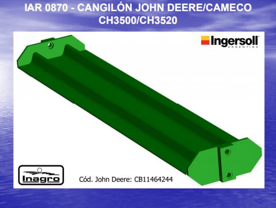 Cangilon Cameco Ingersoll Iar 0870