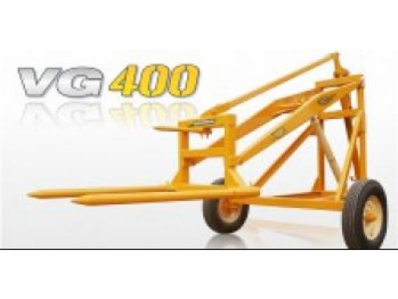 Cargador De Rollos Elevador De Rollos Grosspal Vg 400