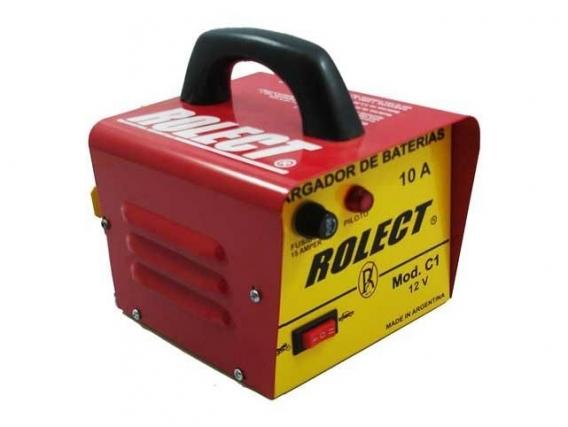 Cargador Para Batería Auto/moto Rolect /6 A 12V / 65Amp