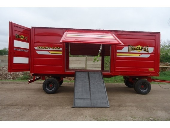 Carro Taller Metalpaz De 5,40 Mts