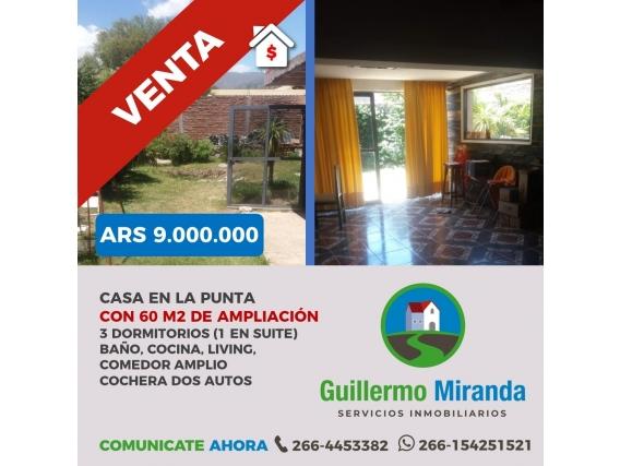 Casa En Venta La Punta San Luis
