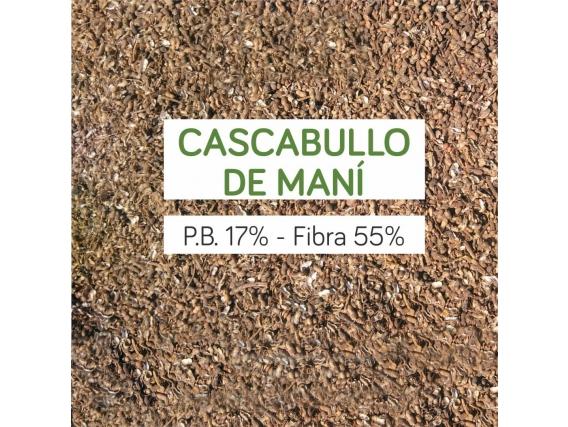 Cascabullo De Maní Fibra 55% Proteína 17%