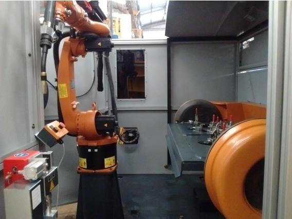 Celda Robotica Para Soldadura Kuka Kr Y Fronius Tps.