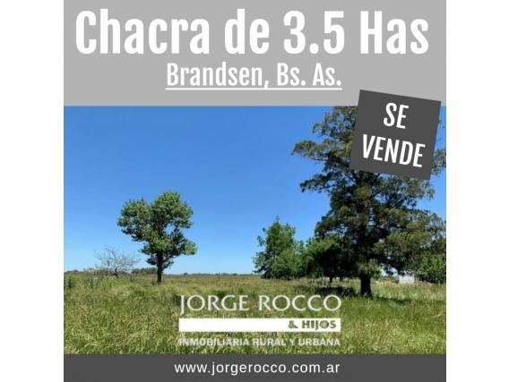 Chacra De 3.5 Has En Brandsen