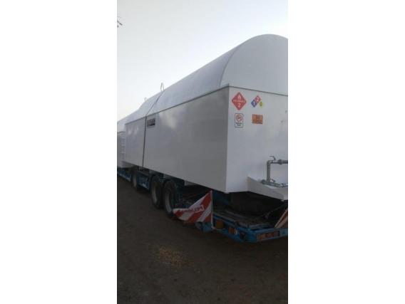 Cisterna Acopio Combustible