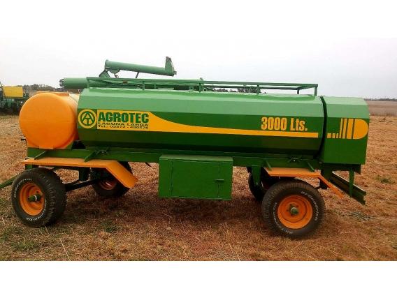 Cisterna Agrotec 3000 Litros Combinada