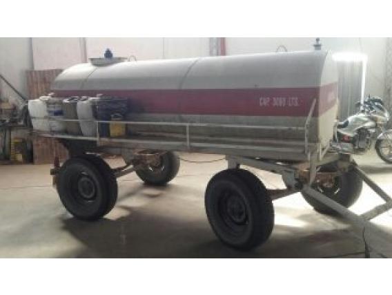 Cisterna Gentile De 3000 Litros Con Bomba Gas Oil