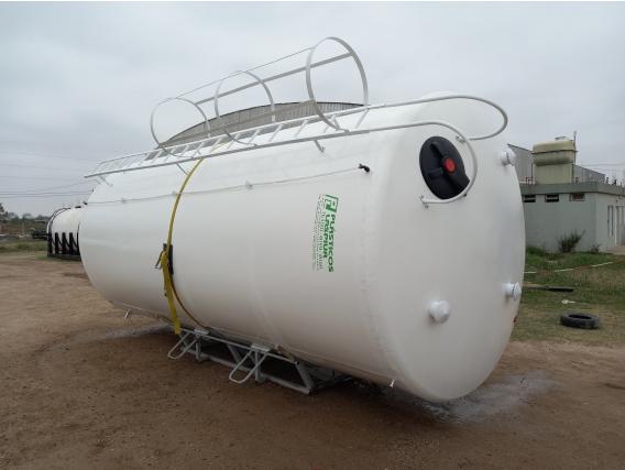 Cisternas Verticales - Desde 3.000 A 50.000 Lts. Prfv.