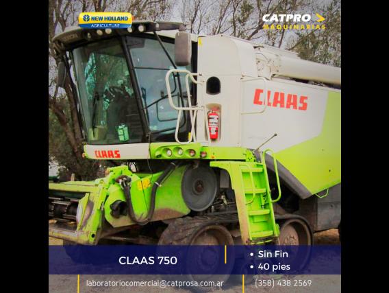 Claas 750 Año 2013