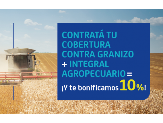 Cobertura Contra Granizo + Integral Agropecuario