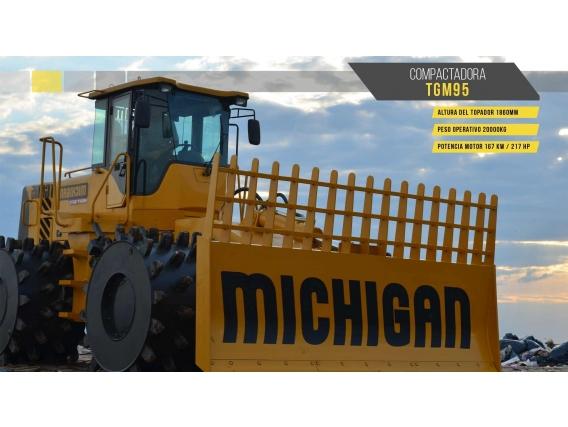 Compactador Michigan Tgm 95