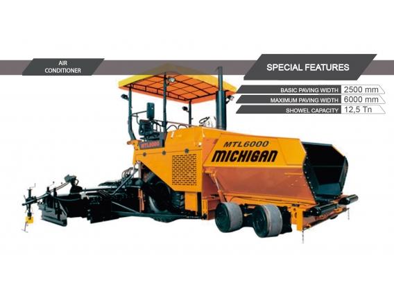 Compactador Michigan Mtl6000