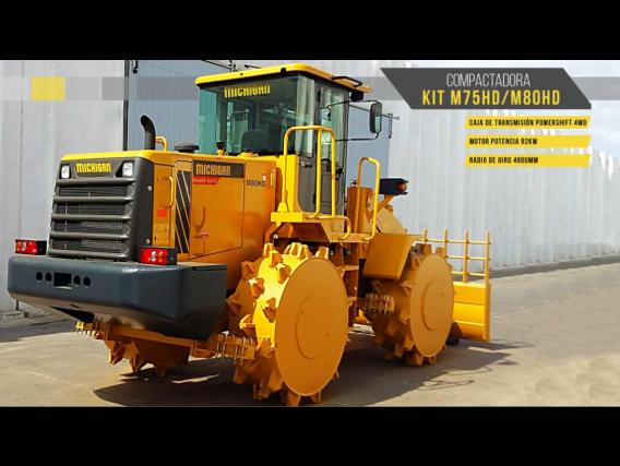 Compactadora Michigan Kit M75Hd/m80Hd