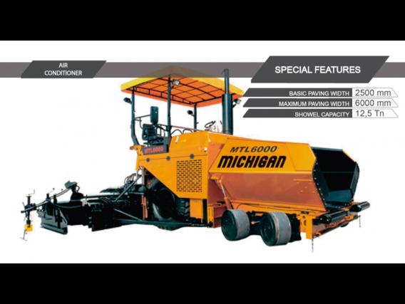 Compactadora Michigan Mtl6000