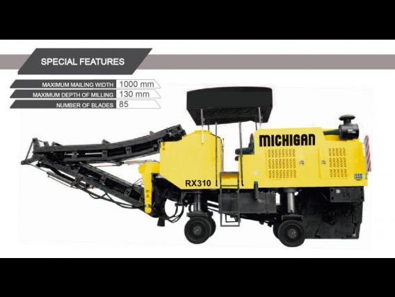 Compactadora Michigan Rx310