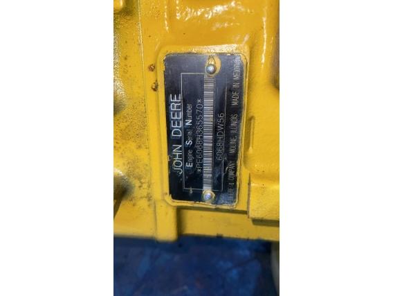 Compro Motor John Deere, 6068 Powertech De 150 A 180 Hp