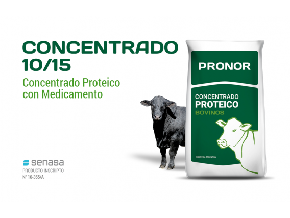 Concentrado 10/15 Pronor