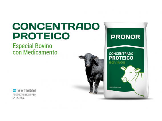 Concentrado Proteico Bovino Pronor