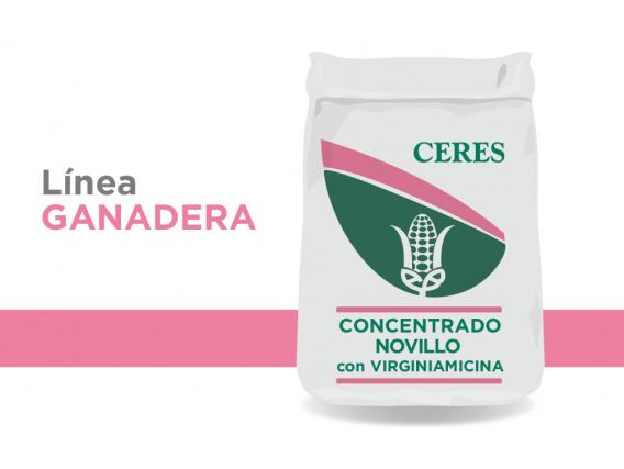 Alimento Concentrado Novillo con Virginiamicina Ceres