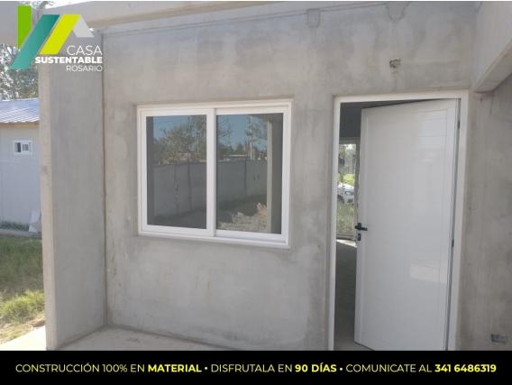 Construcción Modelo De 2 Dormitorios Casa Sustentable