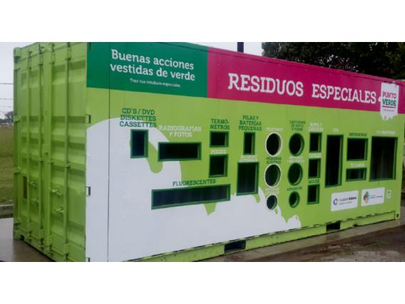Container Para Residuos Box House 40 Pies Rafaela