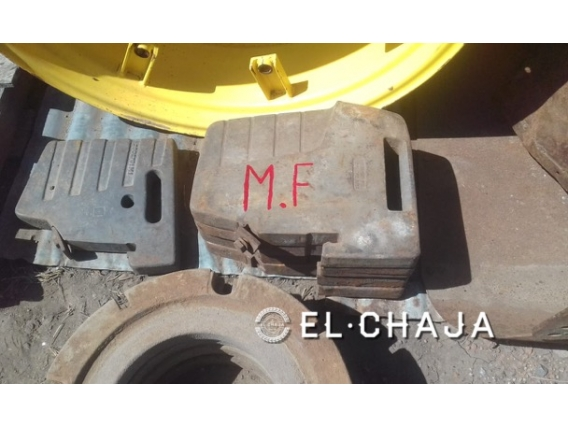 Contrapesos Para Tractor Massey Ferguson Trompa.