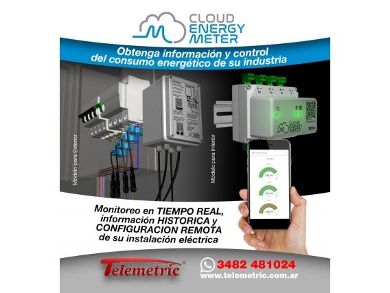 Control Consumo Energía Eléctrica Vía On Line