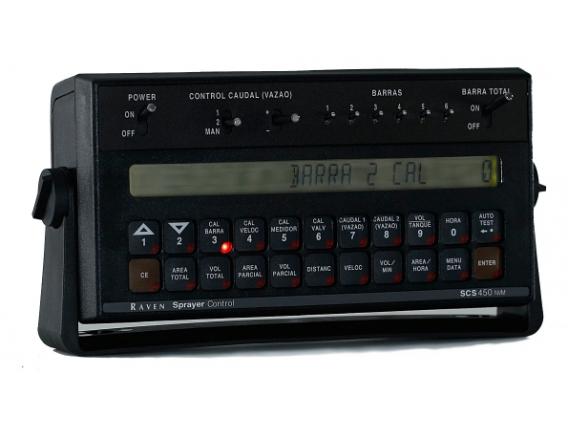 Controlador De Pulverización Raven Scs 450