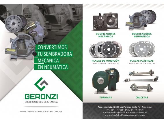 Conversión De Sembradora Mecánica En Neumática