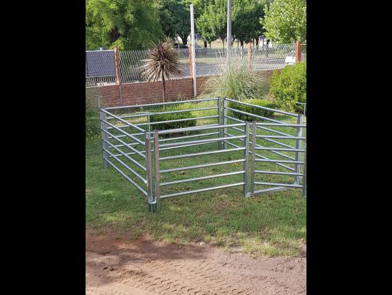 Corrales Galvanizados Portátiles Para Ovinos