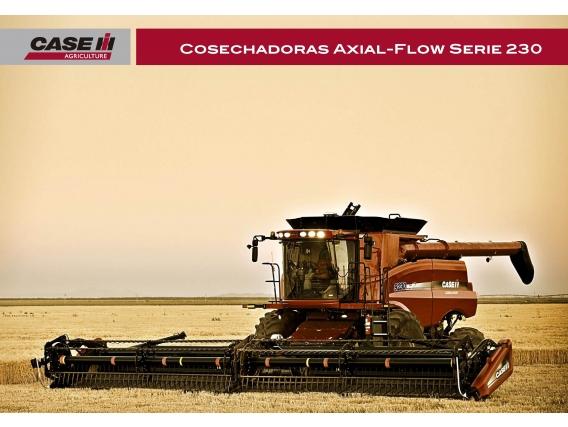 Cosechadora Case IH Axial Flow 7230