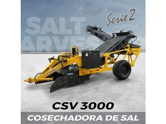 Cosechadora De Sal Grosspal Csv 3000