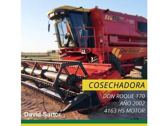Cosechadora Don Roque 170