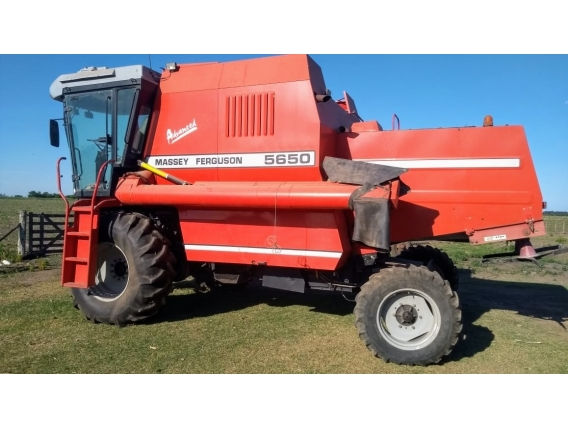 Cosechadora Massey Ferguson 5650 Advanced
