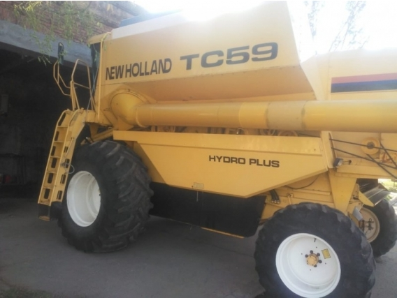 Cosechadora New Holland Tc 59 2004 - Lista P/ Trabajo