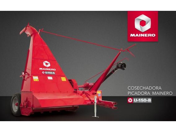 Cosechadora Picadora De Forraje Mainero U-150-B