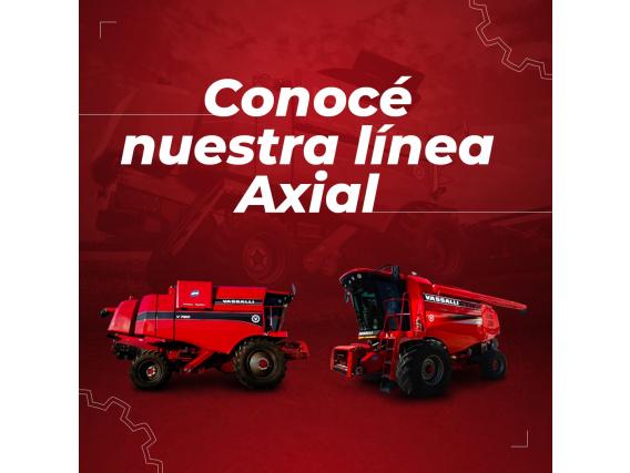Cosechadoras Vassalli Axiales - Linea Completa / Nuevas