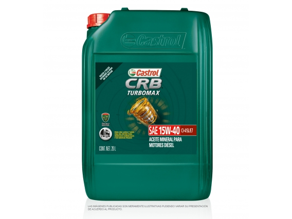 Aceite para Motor CASTROL CRB TURBOMAX 15W-40
